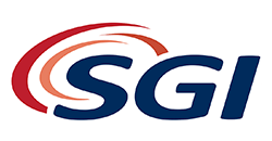 SGI logo taustata